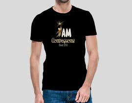 "#73 para ""I am Courageous. Deut 31:6"" - BOYS Tshirt Design por Msrohani420"