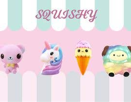 #2 untuk I need a design for squishy tiys and slime i have some pictures attached but can use different ones also picture will be 70x100 cm oleh Savavasa
