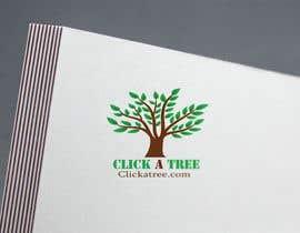 #103 для Click A Tree Logo Design от mostafiz8080