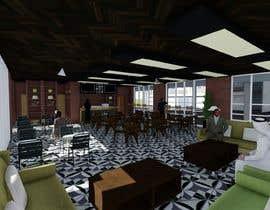 nº 20 pour Architecture Design & interior layout for a coffee shop par aliwafaafif