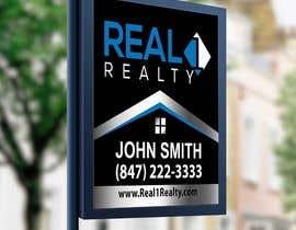 Nro 662 kilpailuun Create a Professional Real Estate Sign käyttäjältä mokterctg10