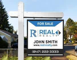 Nro 469 kilpailuun Create a Professional Real Estate Sign käyttäjältä diliprojmala