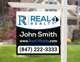 Nro 556 kilpailuun Create a Professional Real Estate Sign käyttäjältä rhythmnasim77