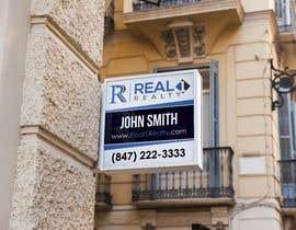 Nro 725 kilpailuun Create a Professional Real Estate Sign käyttäjältä andreschacon218