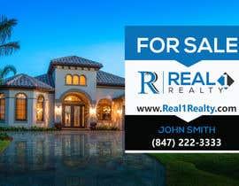 Nro 474 kilpailuun Create a Professional Real Estate Sign käyttäjältä klintanmondal417