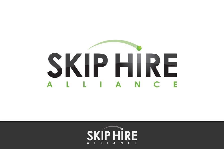 """Intrarea #51 pentru concursul """"Logo Design for Skip Hire Alliance"""""""