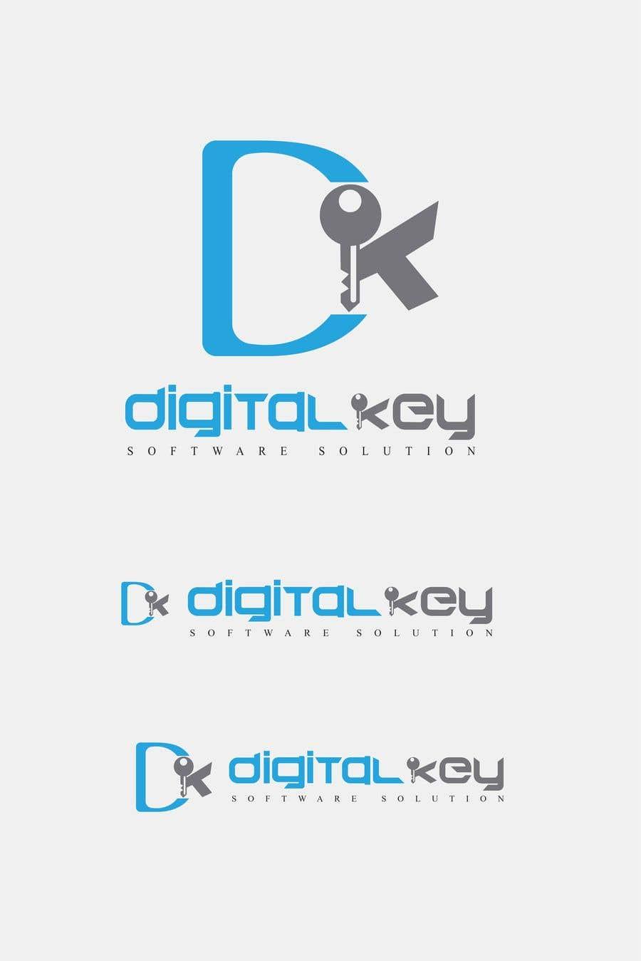 Konkurrenceindlæg #42 for Logo for firm name Digital Key