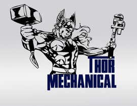 nº 14 pour Logo Design for Thor Mechanical par mauriciocoria