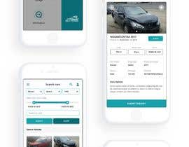 #12 for design app mockup for used cars trading company af wayannst