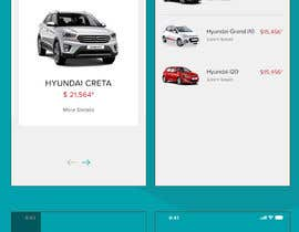 #25 for design app mockup for used cars trading company af sudpixel