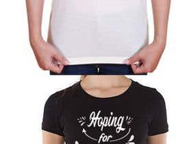 nº 48 pour Feminine Text Base T shirt design using Brush Script Fonts (long term/on going basis) par feramahateasril