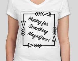 nº 53 pour Feminine Text Base T shirt design using Brush Script Fonts (long term/on going basis) par SitiShahirah