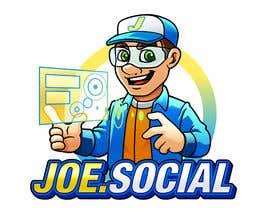 Nro 75 kilpailuun Design A Custom Cartoon Character for Joe.Social käyttäjältä satherghoees1