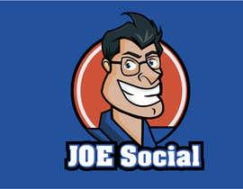 Nro 6 kilpailuun Design A Custom Cartoon Character for Joe.Social käyttäjältä eleanatoro22