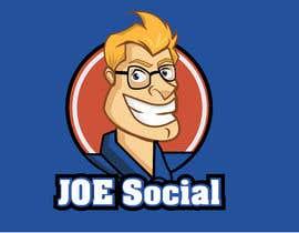 Nro 7 kilpailuun Design A Custom Cartoon Character for Joe.Social käyttäjältä eleanatoro22