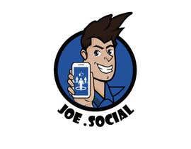 Nro 42 kilpailuun Design A Custom Cartoon Character for Joe.Social käyttäjältä eleanatoro22