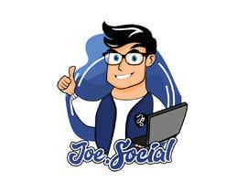 Nro 80 kilpailuun Design A Custom Cartoon Character for Joe.Social käyttäjältä sxmbrx