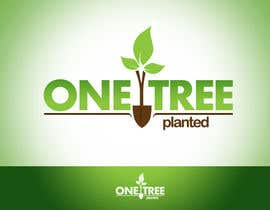 #222 za Logo Design for -  1 Tree Planted od twindesigner