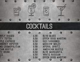 #7 untuk Need digital menu for craft cocktail bar oleh montejopau