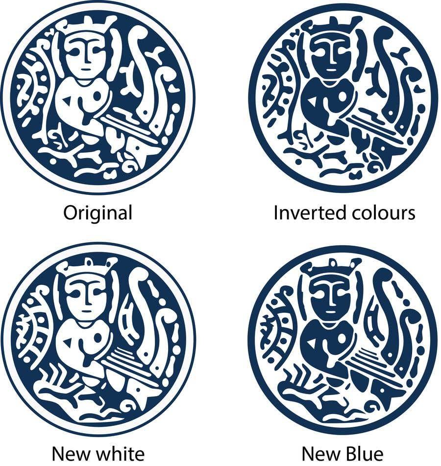 Kilpailutyö #19 kilpailussa Re-draw a logo in three variations.