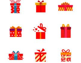 #16 cho Set of red Gift Icons bởi tahmidula1