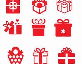 #24 cho Set of red Gift Icons bởi Taslijsr