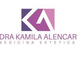 #74 para Logotipo Dra Kamila Alencar por roxeli125