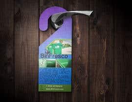 #9 untuk BinFresco Door hanger oleh EliSquared