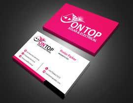 #251 untuk Design a business card using the logo uploaded oleh jhinkuriad