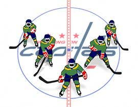 #11 for Draw hockey player illustration by Sico66