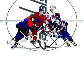 #1 for Draw hockey player illustration by raronok33