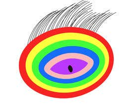 #18 для An image made by an 8 year old. It's a rainbow color eyeball.  I would like someone to  design a vector image of a similar concept of an eyeball with the same colors used in the attachment от Ahsanhabibafsari