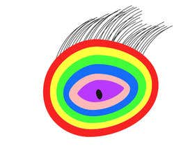 #19 для An image made by an 8 year old. It's a rainbow color eyeball.  I would like someone to  design a vector image of a similar concept of an eyeball with the same colors used in the attachment от Ahsanhabibafsari