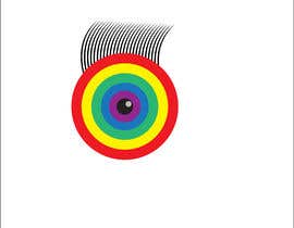 #2 для An image made by an 8 year old. It's a rainbow color eyeball.  I would like someone to  design a vector image of a similar concept of an eyeball with the same colors used in the attachment от mohamedsobhy1530