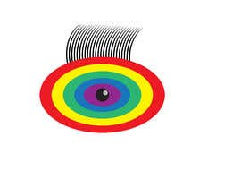 #3 для An image made by an 8 year old. It's a rainbow color eyeball.  I would like someone to  design a vector image of a similar concept of an eyeball with the same colors used in the attachment от mohamedsobhy1530