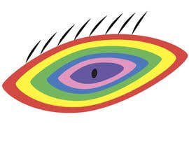 #7 для An image made by an 8 year old. It's a rainbow color eyeball.  I would like someone to  design a vector image of a similar concept of an eyeball with the same colors used in the attachment от Cimiss