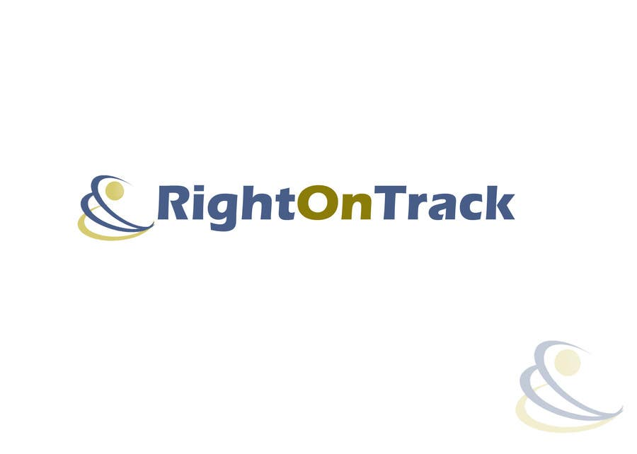 #200 for Logo Design for RightOnTrack by vhelp4u