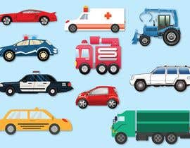 nº 27 pour Graphic Young Boys Kids Cars Five Color par Mashiur63