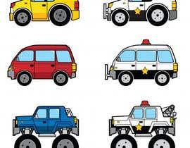 nº 8 pour Graphic Young Boys Kids Cars Five Color par mdhimadroniloy71