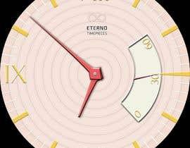 #7 cho Create watch face design for smartwatches - circular, analogue, lifelike and feminine. bởi KudzayiM