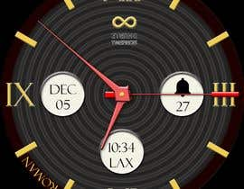 #11 cho Create watch face design for smartwatches - circular, analogue, lifelike and feminine. bởi KudzayiM