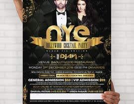 Nro 56 kilpailuun NYE Bollywood Cocktail Party (Black Tie Edition) käyttäjältä MooN5729