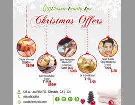 #52 para Design a Christmas seasonal promotional banner ad for a spa por dissha