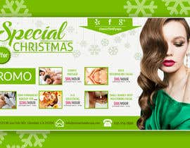 #45 para Design a Christmas seasonal promotional banner ad for a spa por mdeiamin82