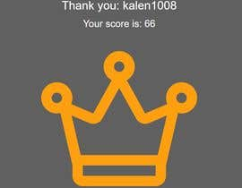 #7 untuk Get the best score in my game oleh kalen1008