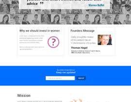 #13 cho 2 page website, design & WP programming, investing-in-women.com bởi kethketh