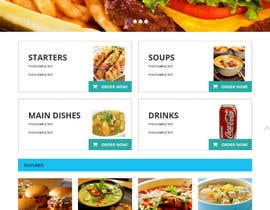 #5 cho Design template for Opencart fast food takeaway website bởi ameyk