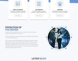 #112 para Design only for hosting company - 2 pages por Bkmraj