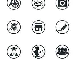 #22 for Require 9 icons in vector format by Aiazj