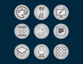 #25 for Require 9 icons in vector format by josepave72
